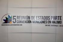 Quinta Reunion de Estados Parte de la Convención de Municiones en Racimo