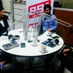 Entrevista de radio con la Fundación Arias
