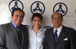 Ricardo Sancho, Lina Barrantes Diectora Funfación y Suliman Tieb Embajador de República Arabe Saharaui (I-D). Crédito: FA