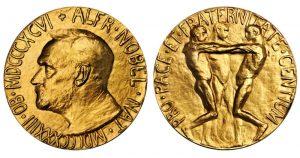 Medalla Premio Nobel de La Paz