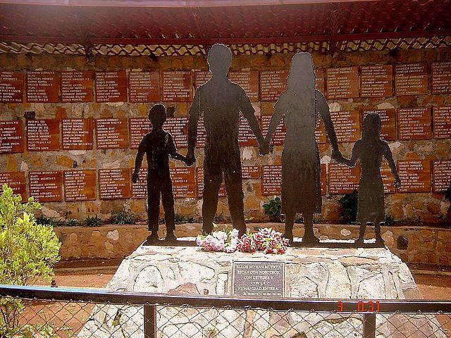 Monumento de la Masacre de El Mozote